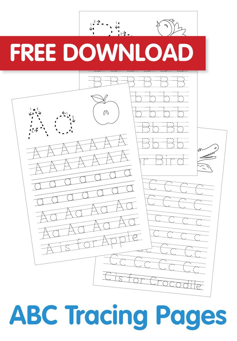 Free ABC Colouring In Printable | Abc tracing, Abc ...