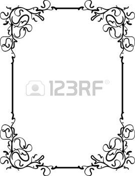 encaje: Unusual, decorative lace ornament, vintage frame with empty place for your text. Vector illustration greeting Vectores