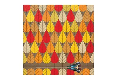 Charley Harper - Octoberama Lithograph