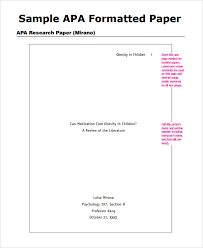 Pin On Apa Style Papers