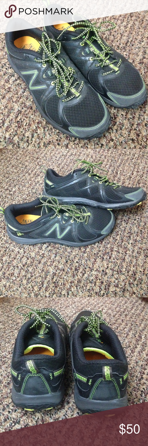 New Balance running shoes Running shoes, very lightly worn. In great condition, size 10. New Balance Shoes Athletic Shoes