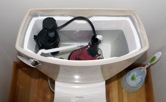 How To Flush A Toilet Without Running Water Diy Plumbing Running Water Water Storage Containers