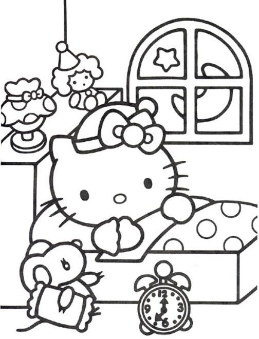 hello kitty ausmalbilder ausmalbilder f r kinder ausmalen pinterest ausmalbilder. Black Bedroom Furniture Sets. Home Design Ideas
