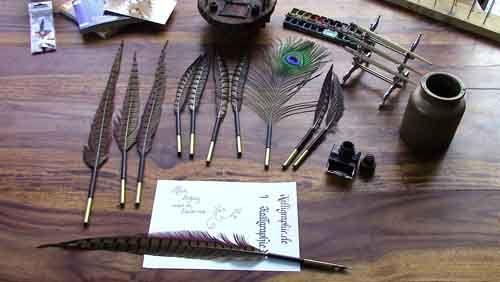 Kalligraphie.de DIE Kalligrafie-Seite