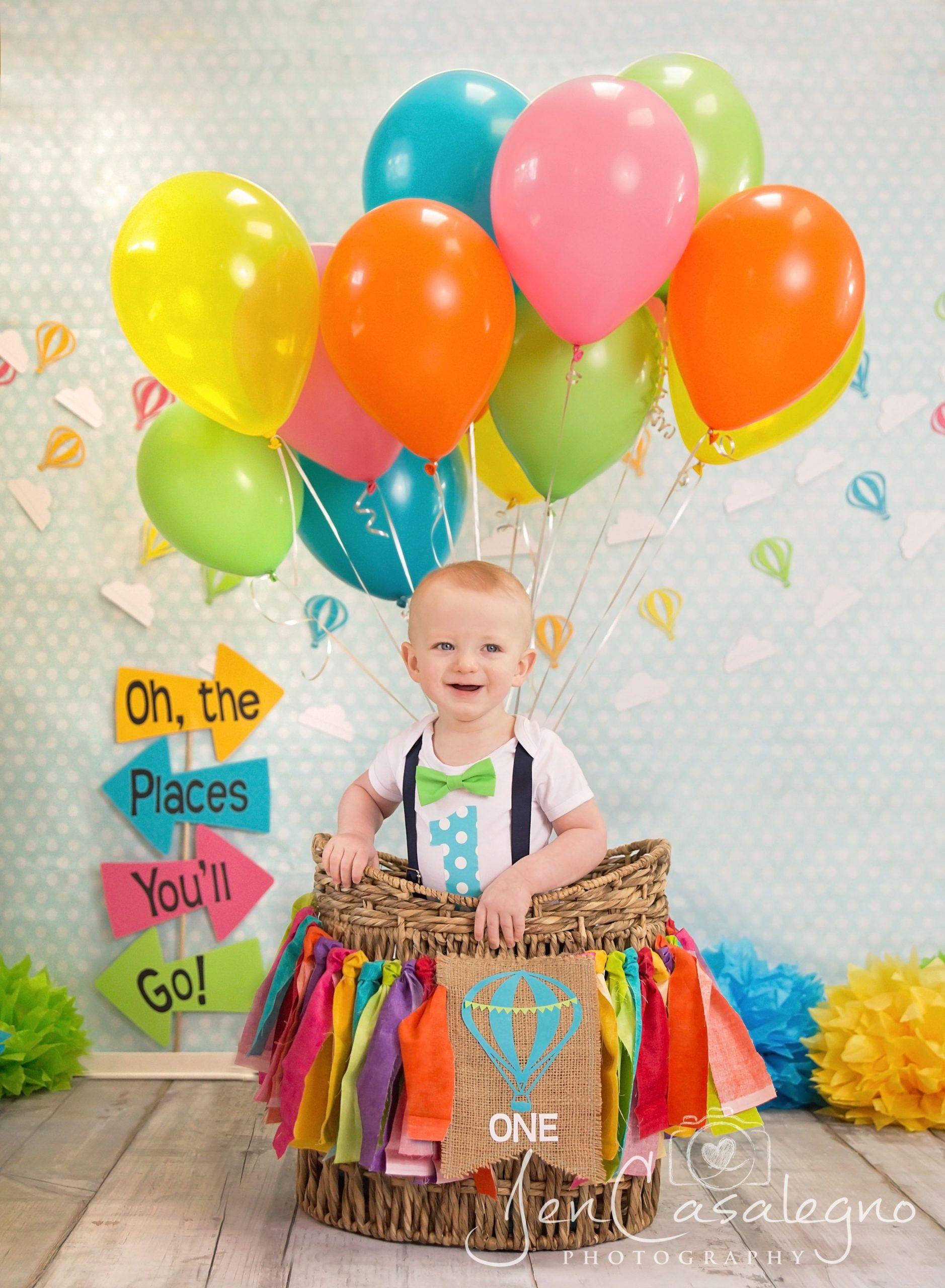 1st Birthday Party Places For Inspiration Birthday Ideas Make It Heissluftballon Basteln Erster Geburtstag Bilder Heissluftballon Party