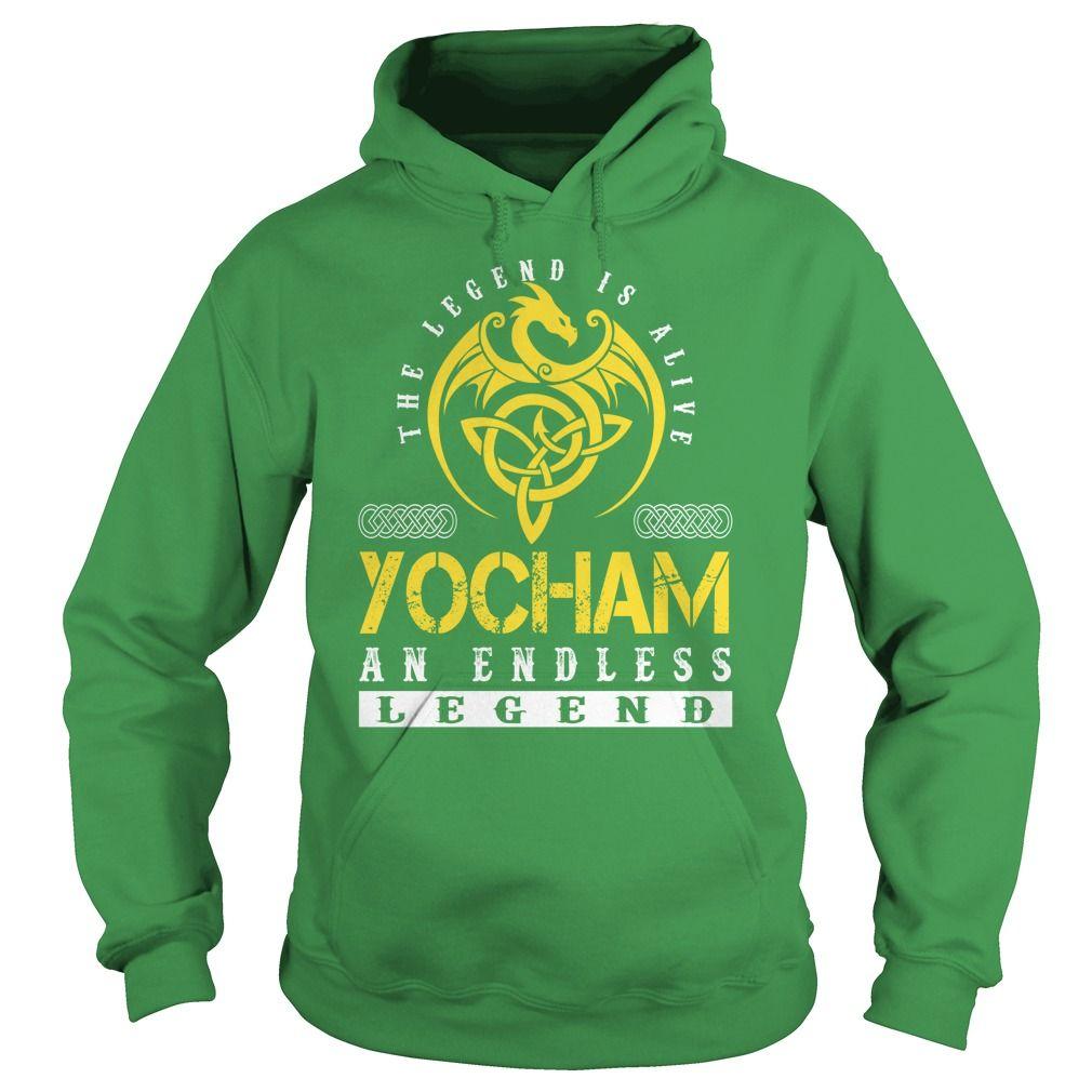 The Legend is Alive YOCHAM An Endless Legend - Lastname Tshirts