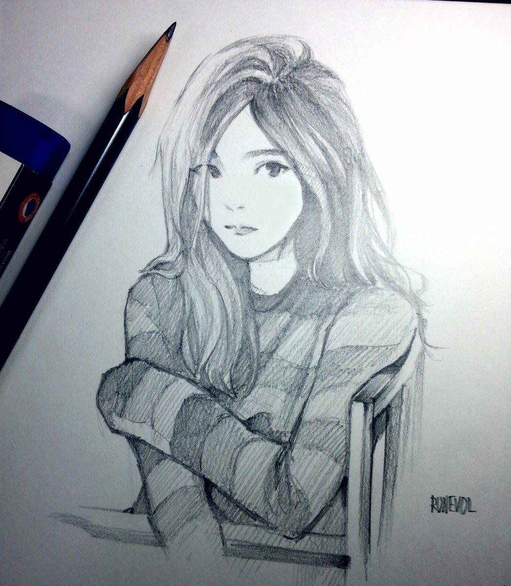 Fan art of taeyeon 태연 of girls generation 소녀시대 from her music video 1111