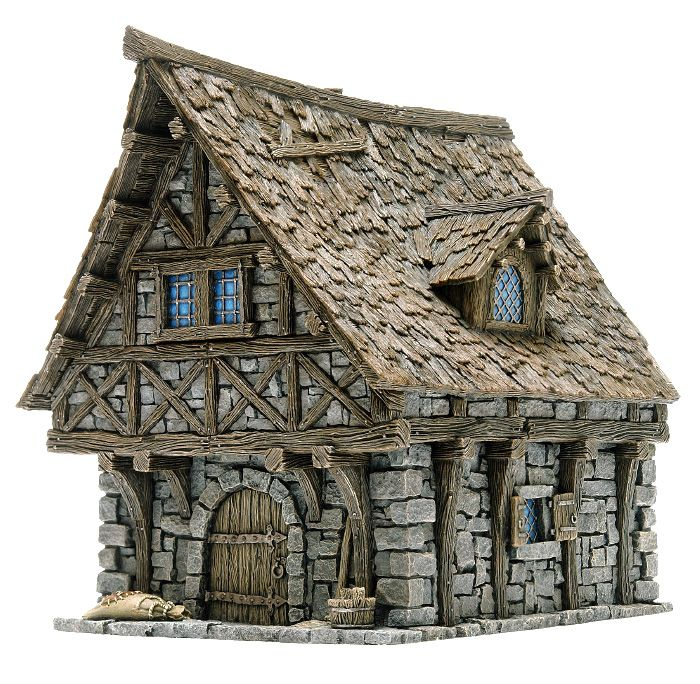Medieval Houses, Wargaming Terrain, Magic House