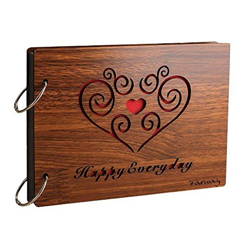 Aenmil creative commemorative diy photo album 8inch wood gift loose aenmil creative commemorative diy photo album 8inch wood gift loose leaf photo gallery happy every day read more at the image link it is an af solutioingenieria Choice Image