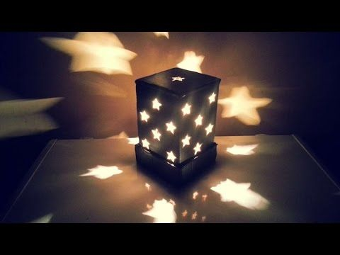 Easy Homemade Night Lamp With Paper This Lampshade Made From