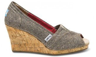 6030303d849 ShopStyle: Metallic tweed women's wedges...where can I find wedges ...