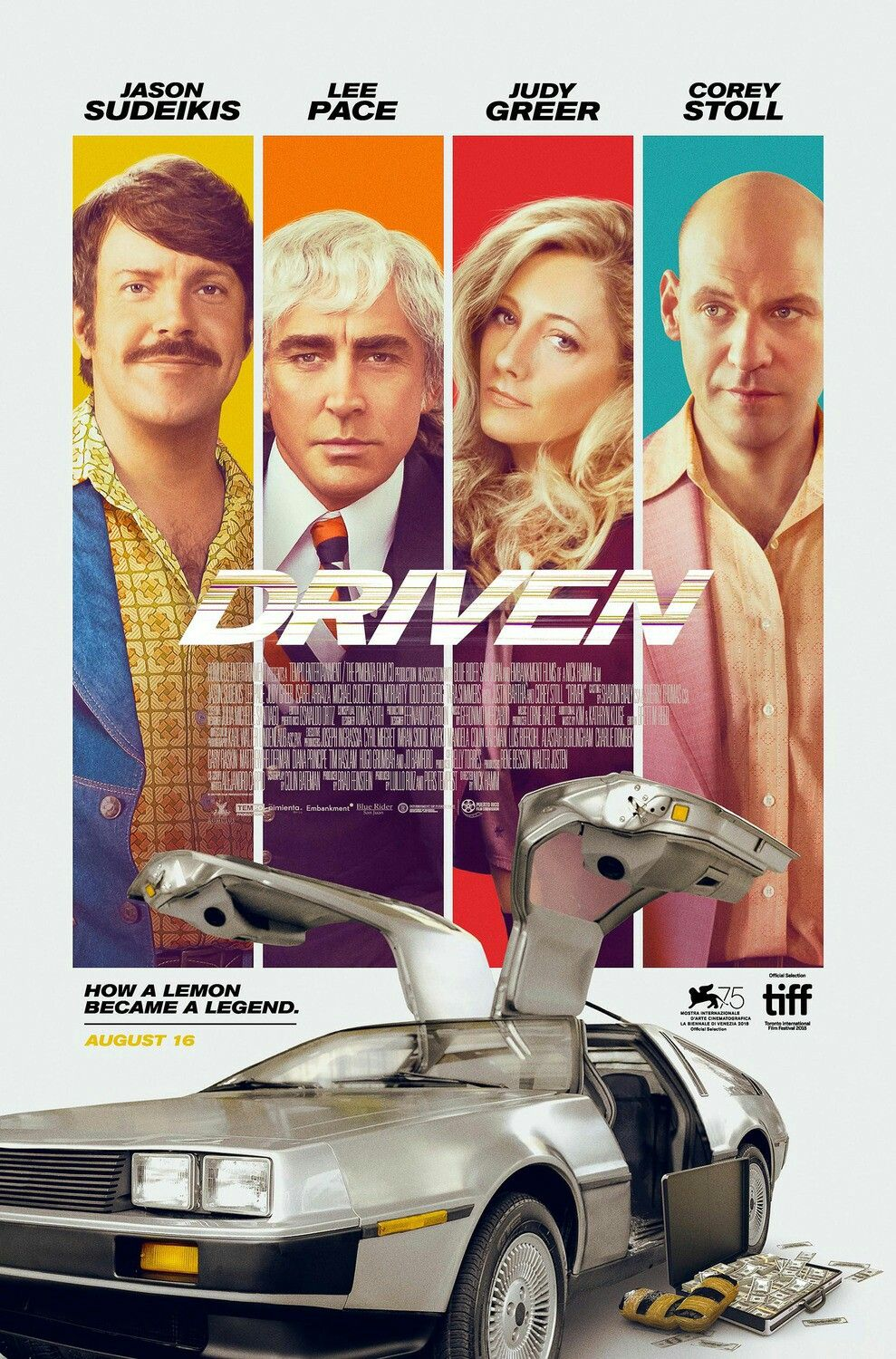 First And Horrible Poster For The Movie Driven Drive In Movie Jason Sudeikis Driving
