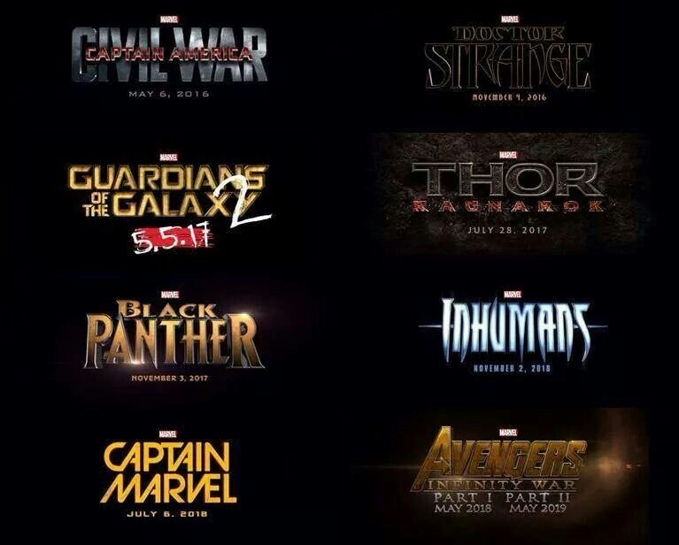 Con esto terminan los rumores en torno al calendario de cintas de #Marvel y a los personajes que se incorporan a su universo cinematográfico.
