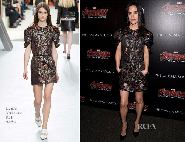Jennifer Connelly In Louis Vuitton - 'Avengers Age of Ultron' New York Screening