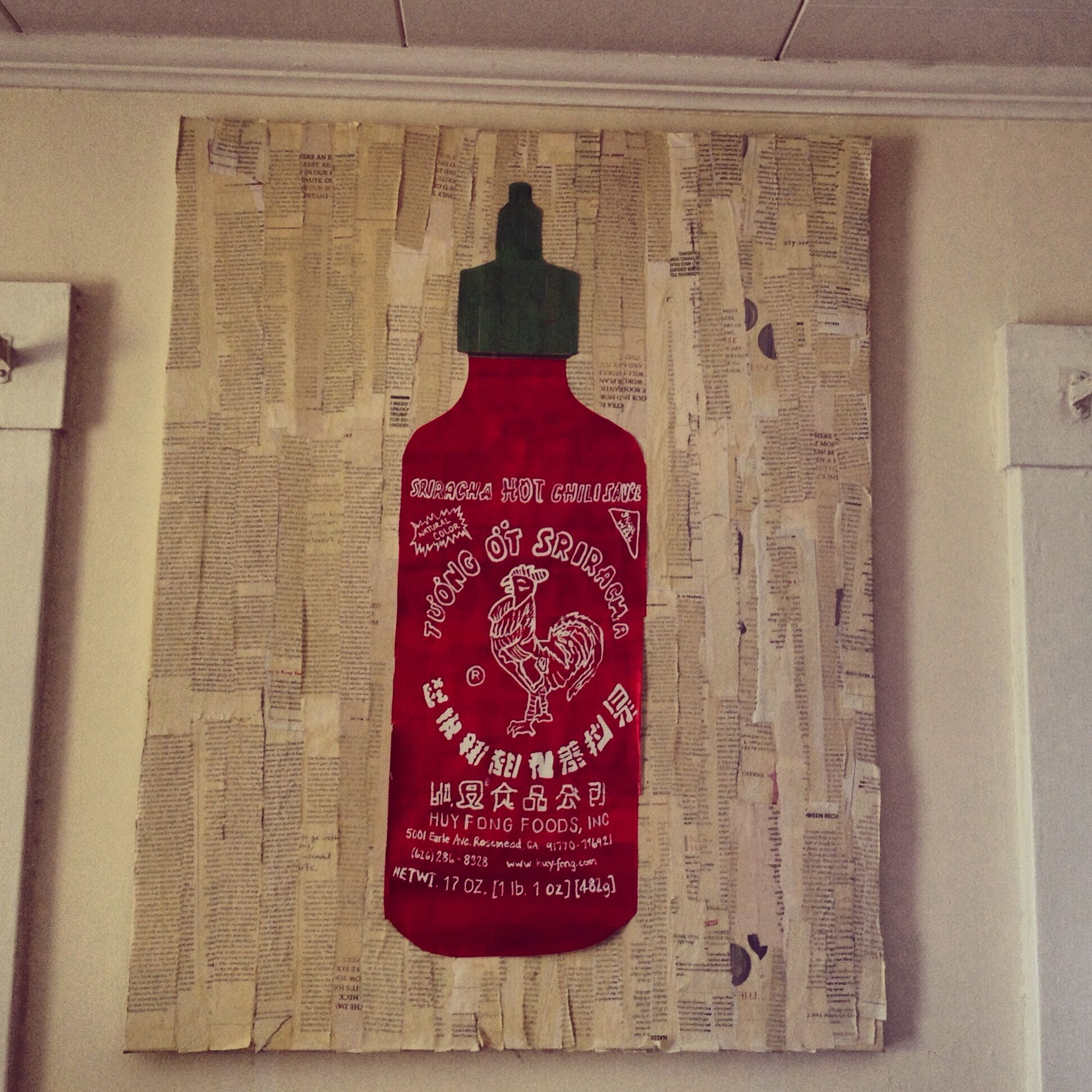 Do It Yourself Sriracha Art