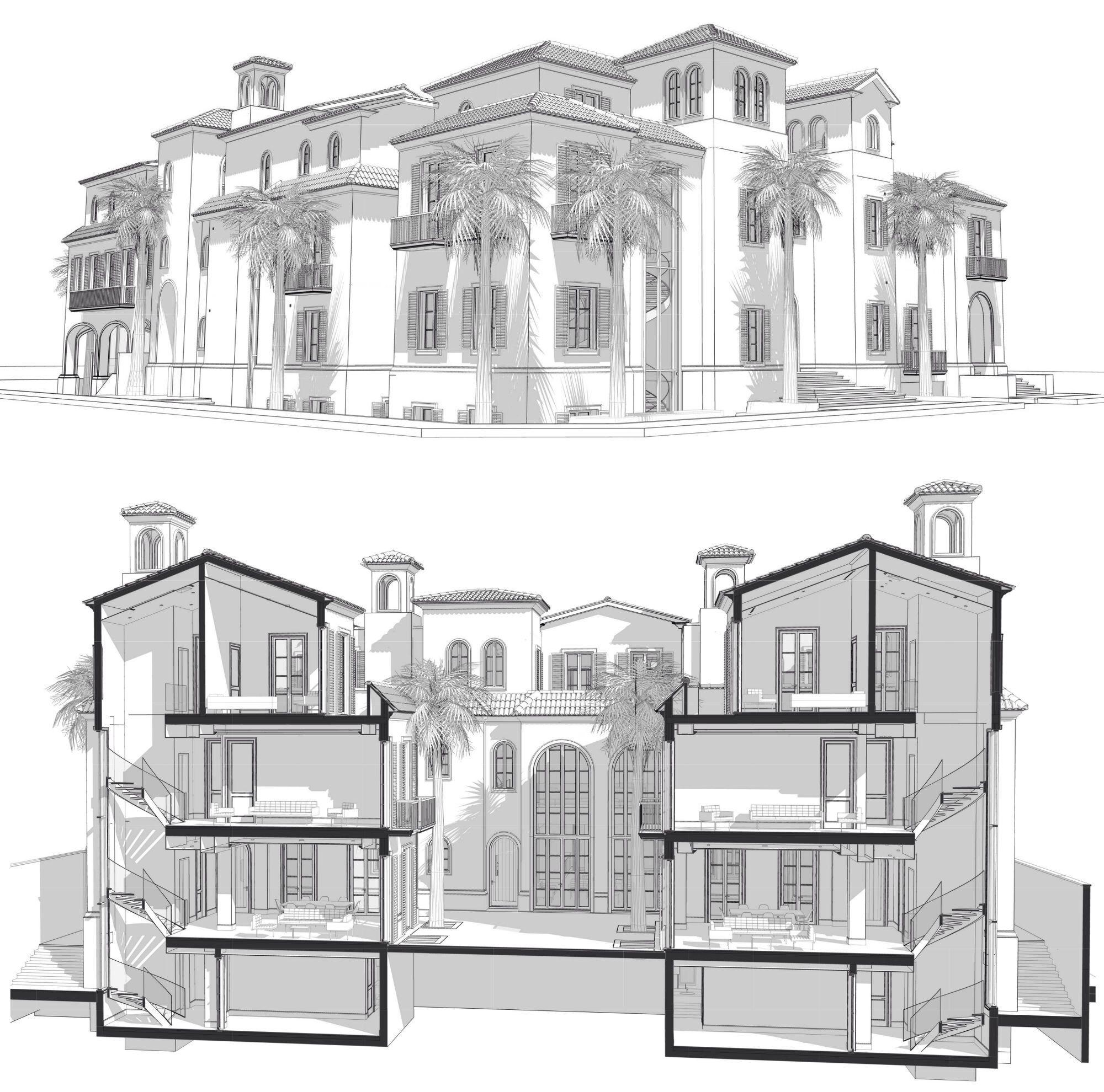 Andulus Villas Villa style, Villa, Floor plans
