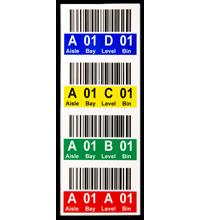 Color Coded Rack & Shelf Labels   Warehouse Labels   Shelf