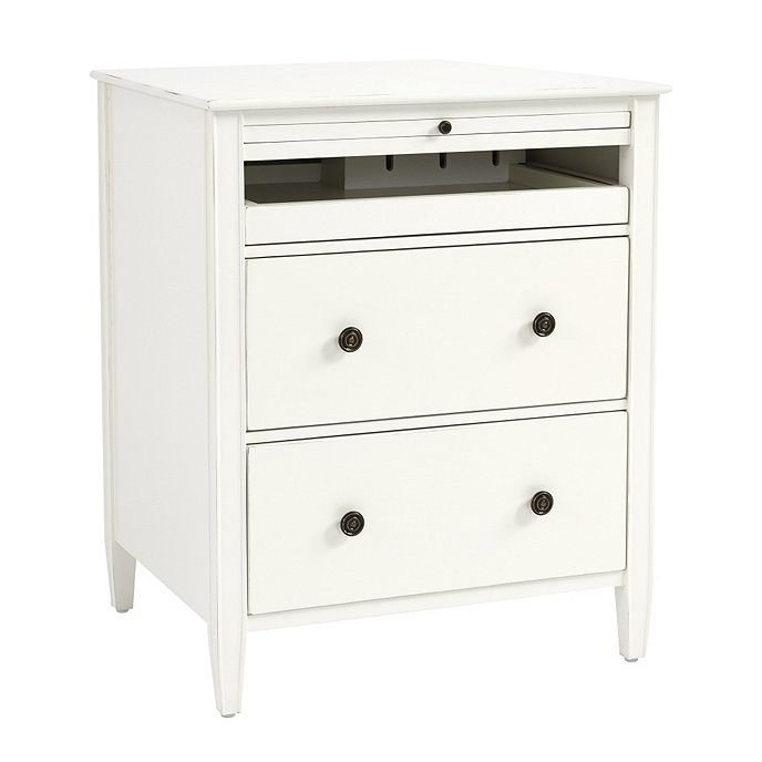 sidney side table with charging station ballard designs bedside design nightstand low rise king bed frame