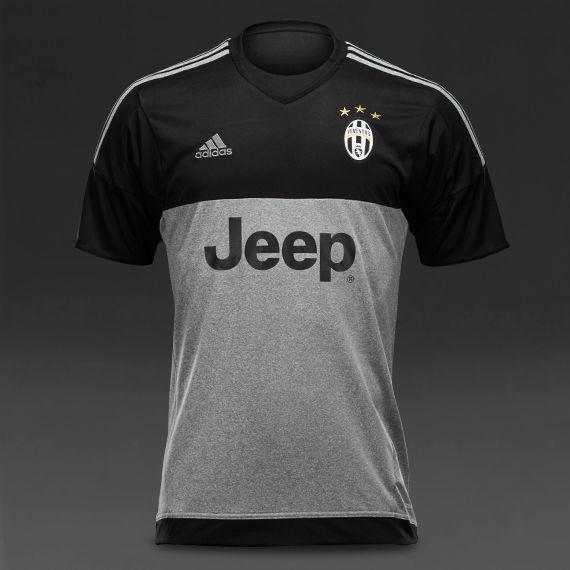 adidas Juventus 15-16 GK Shirt - Black 711ef5a88