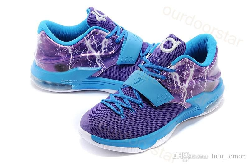 307ff11a573e Wholesale Kevin Durant KD 7 EP VII 2015 New Arrival Basketball Shoes Men Shoes  Sports Training Sneaker Running Cheap Price Top Quality Shoes Size40-46