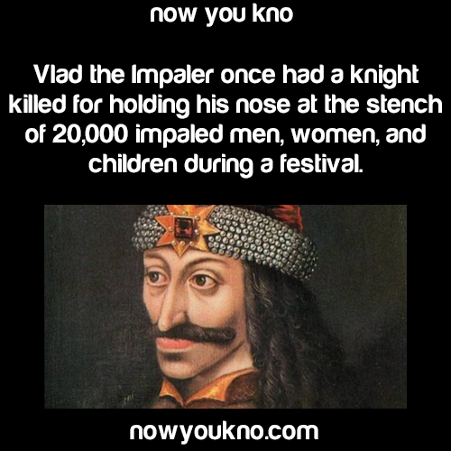 What kind of research paper could I do on Vlad the Impaler?