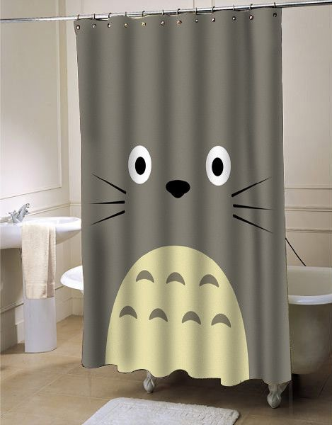 My Neighbor Totoro Shower Curtain At Shower Curtain Decor