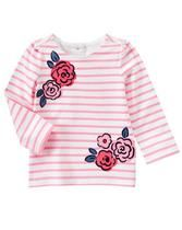 Roses & Stripes Top