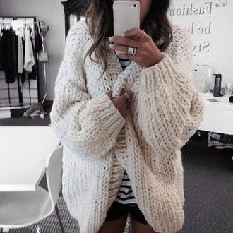 cardigan oversized cardigan oversized sweater tan cardigan cute winter  outfits big cream wool knitwear white cream sweater wool sweater e7270d3ad
