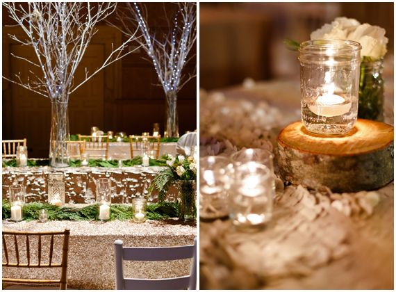 These amazing linens from La Tavola create a rich, textural backdrop perfect for a woodland-themed wedding or event. GORGEOUS!