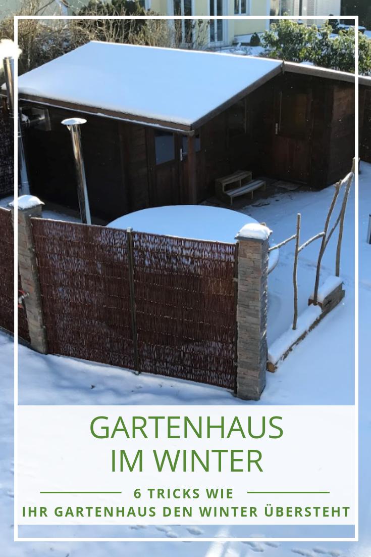 Gartenhaus Im Winter Wir Nennen Ihnen 6 Tricks Wie Sie Ihr Gartenhaus Gegen Frost Schnee Und Eis Schutzen Gartenhaus Gartenhaus Selber Bauen Haus