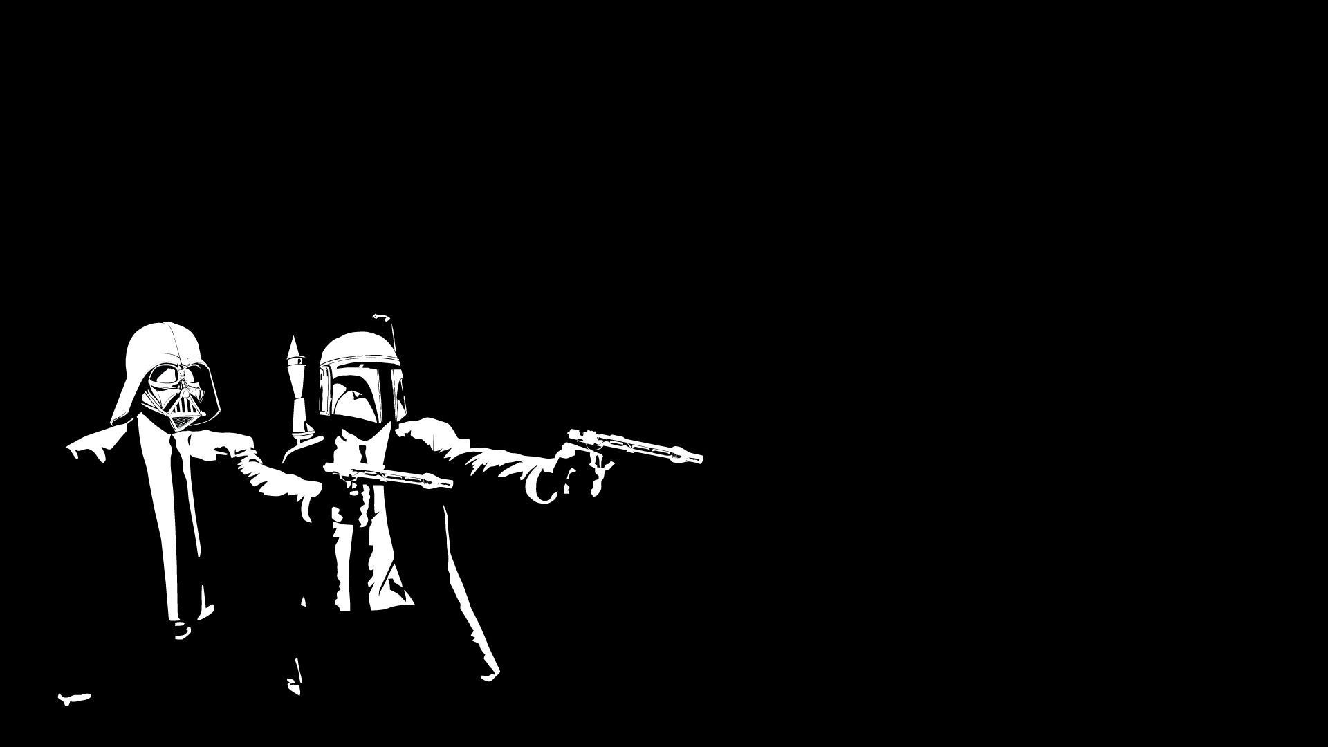 Crossover wallpaper - You Can View Download And Comment On Star Wars Pulp Fiction Crossover Free Hd Wallpapers