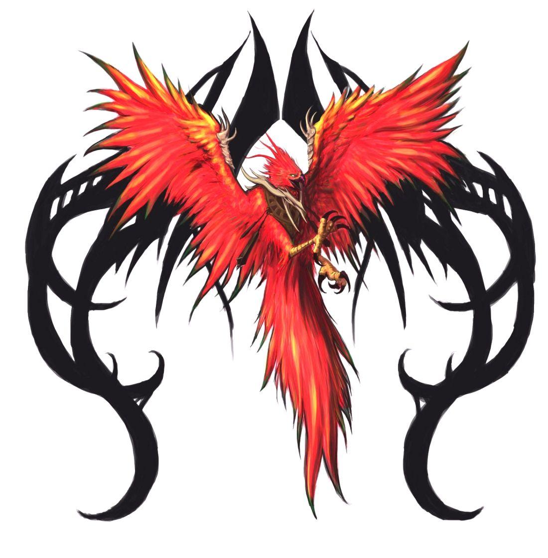рисунки феникса для татуировок когда возникли категории