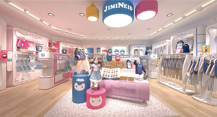 retail fit out, kids shop fittings | Kids store display, Kids clothing store  display, Clothing store design