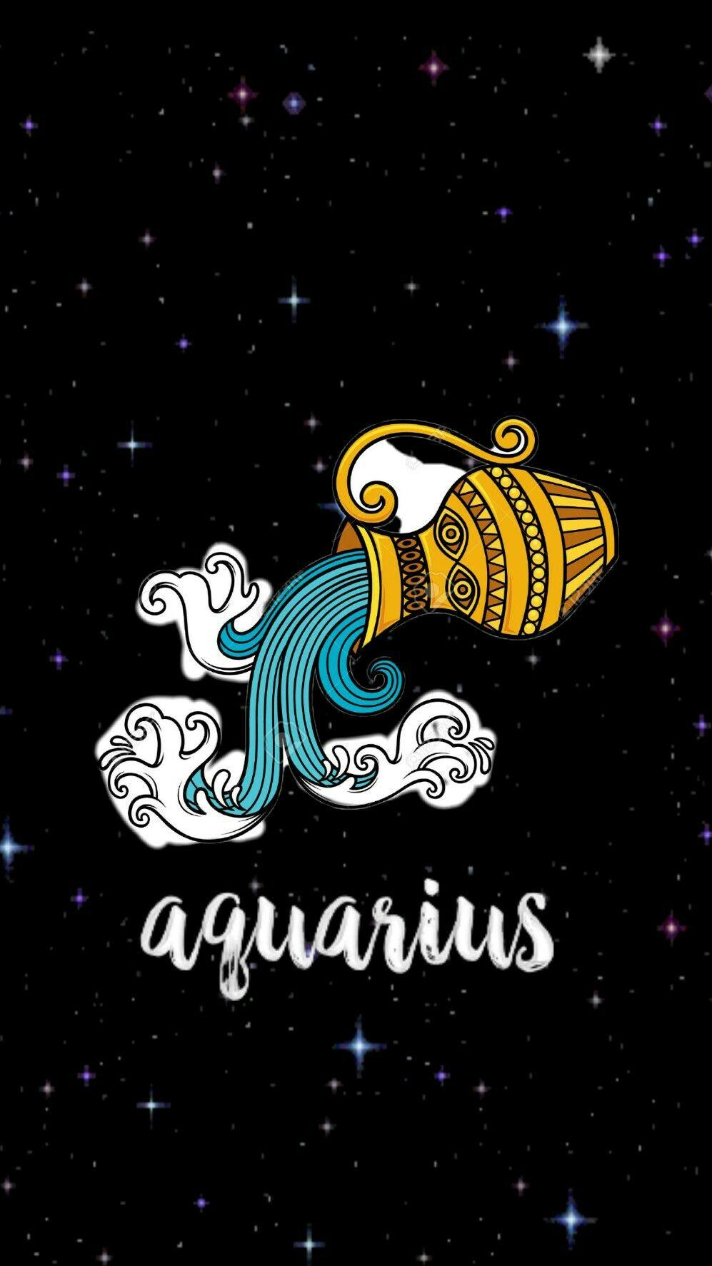 Aquarius Wallpaper Zodiac Zodiac Signs Wallpaper