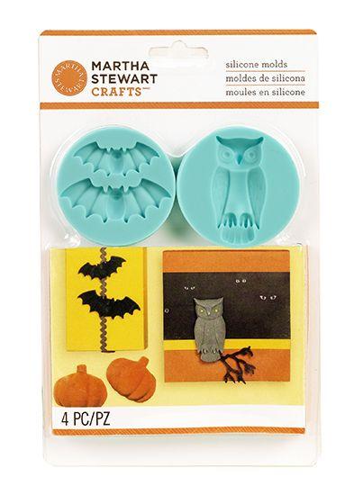Martha+Stewart+Crafts+-+Animal+Masquerade+Collection+-+Halloween+-+Molds+-+Spooky+at+Scrapbook.com