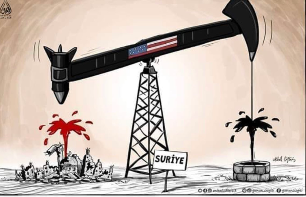Tc Tulin On Twitter Syria Oil Company Caricature