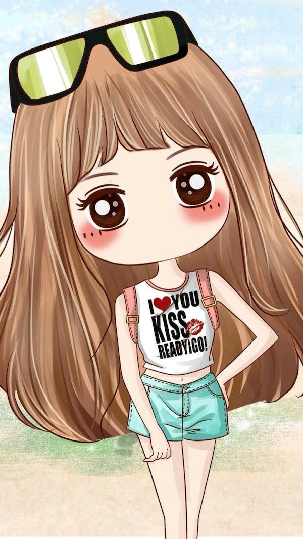 Pin By Meme Gull On Gskoka Cute Girl Wallpaper Chibi Wallpaper