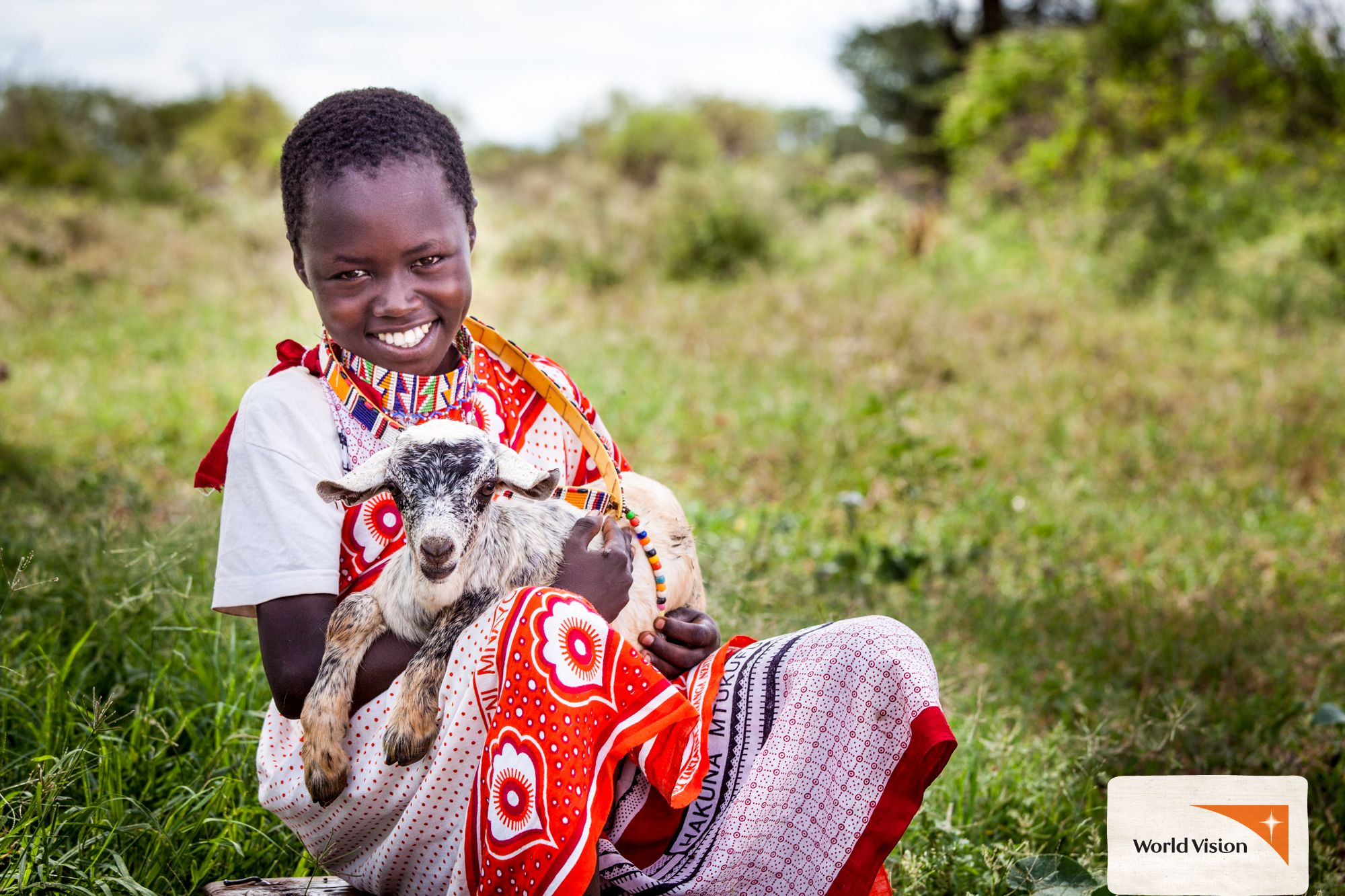 Benson and his goat are the best of #friends! They live in #Kenya ...