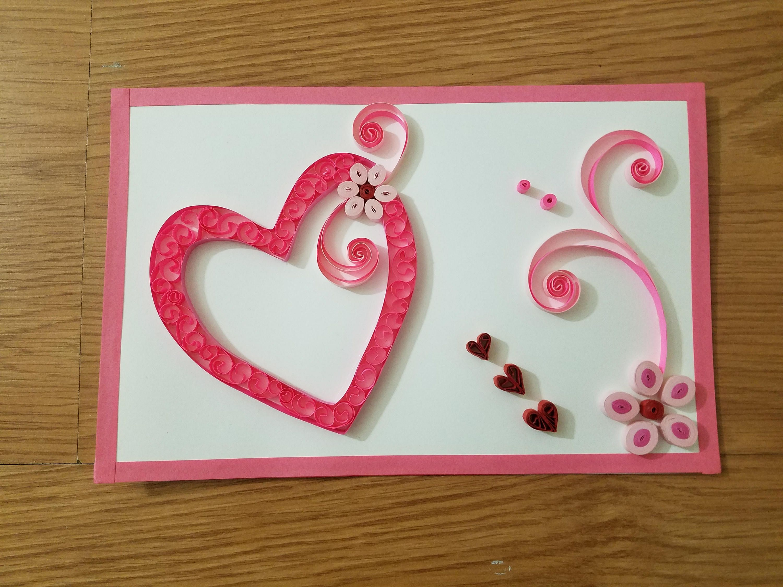 Valentines Greeting Cards Gifts For Her Handmade Greeting Cards