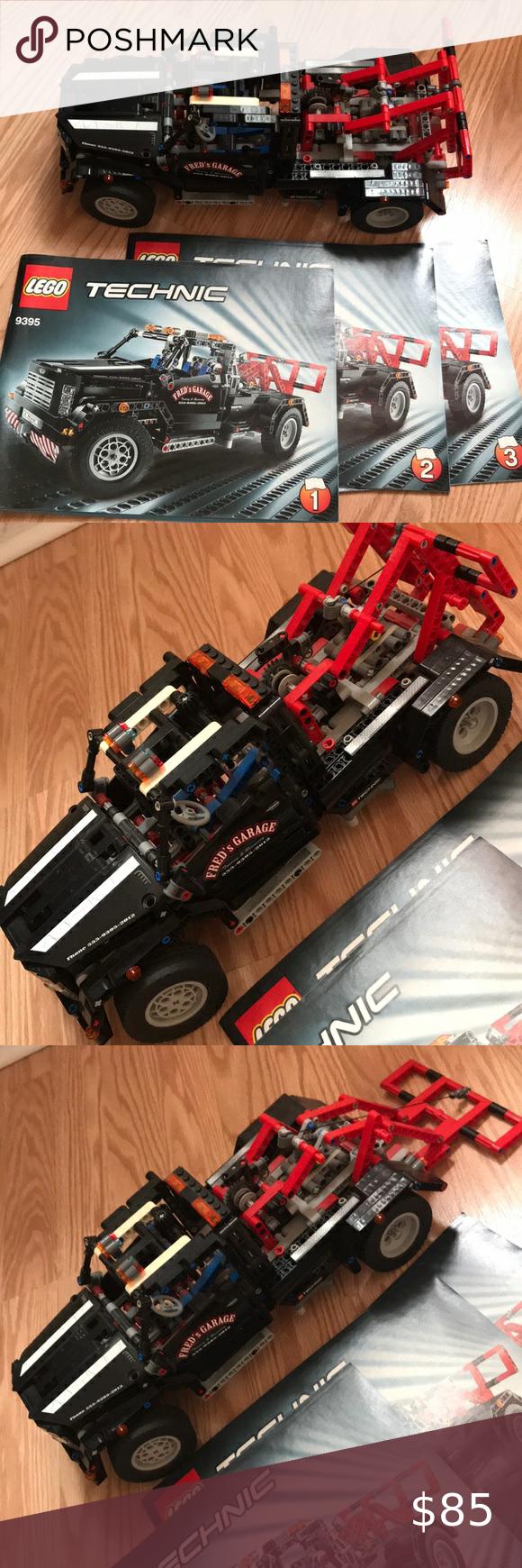LEGO TECHNIC Tow Truck 9395 in 2020 Lego technic, Tow