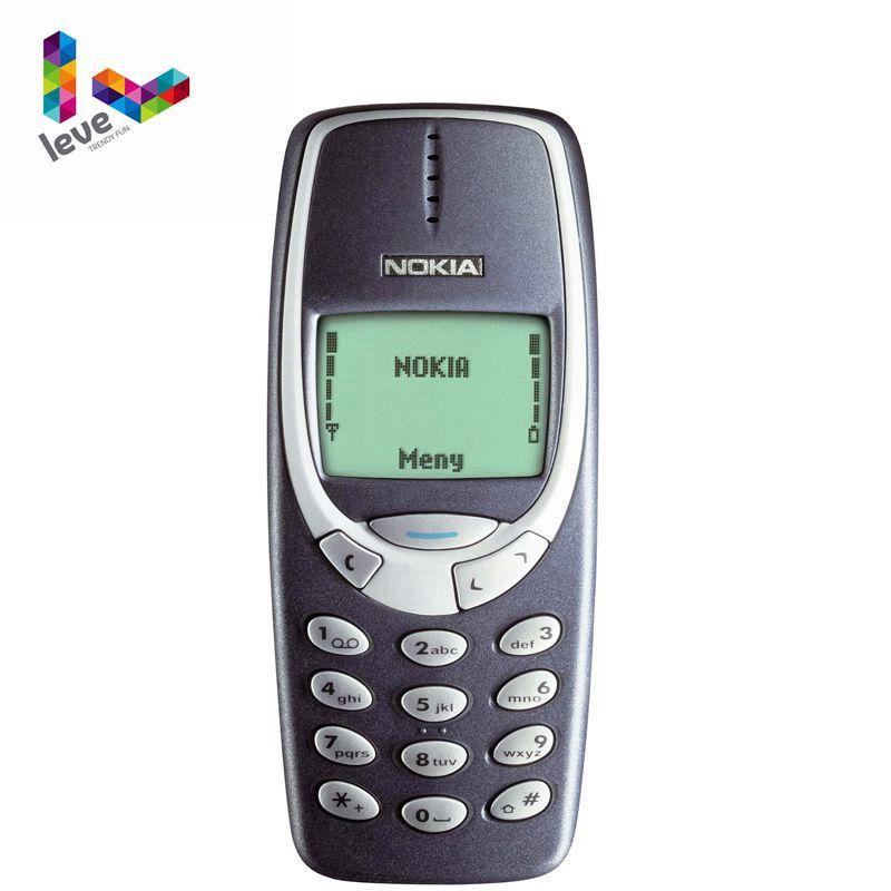 Nokia 3310 Gsm 900 1800 Support Russian Arabic Keyboard Multi Language Free Shipping Ori