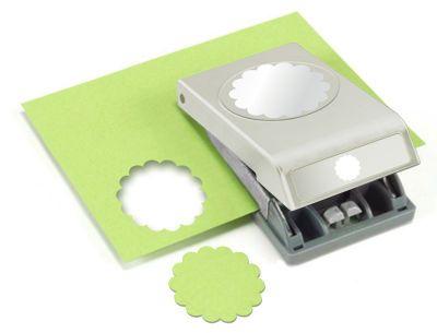 "ek tools™ 5.7 cm (2.25"") Scallop Circle Large Punch"