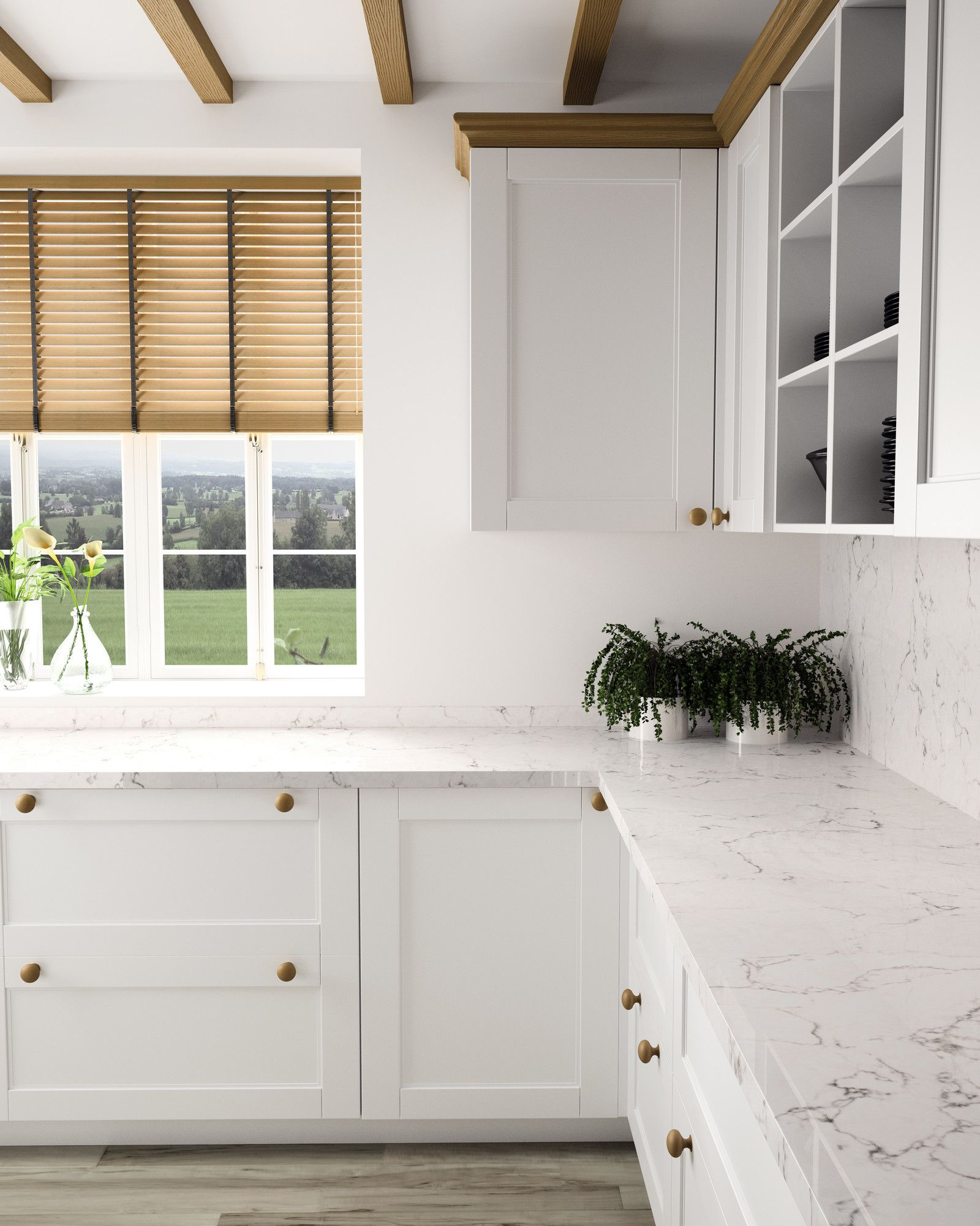 Silestone White Arabesque Color sold at Home Depot Could also be ...