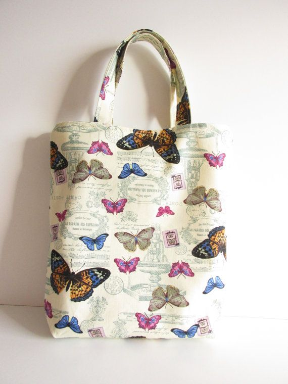 #etsy #UK #giftsforher #manchester #butterflies #olganna www.olganna.com #summer #readytoship #birthday #giftideas #bag #handmade #ccc #handmade https://www.etsy.com/uk/listing/273326346/butterfly-tote-bag-gift-idea-best-friend