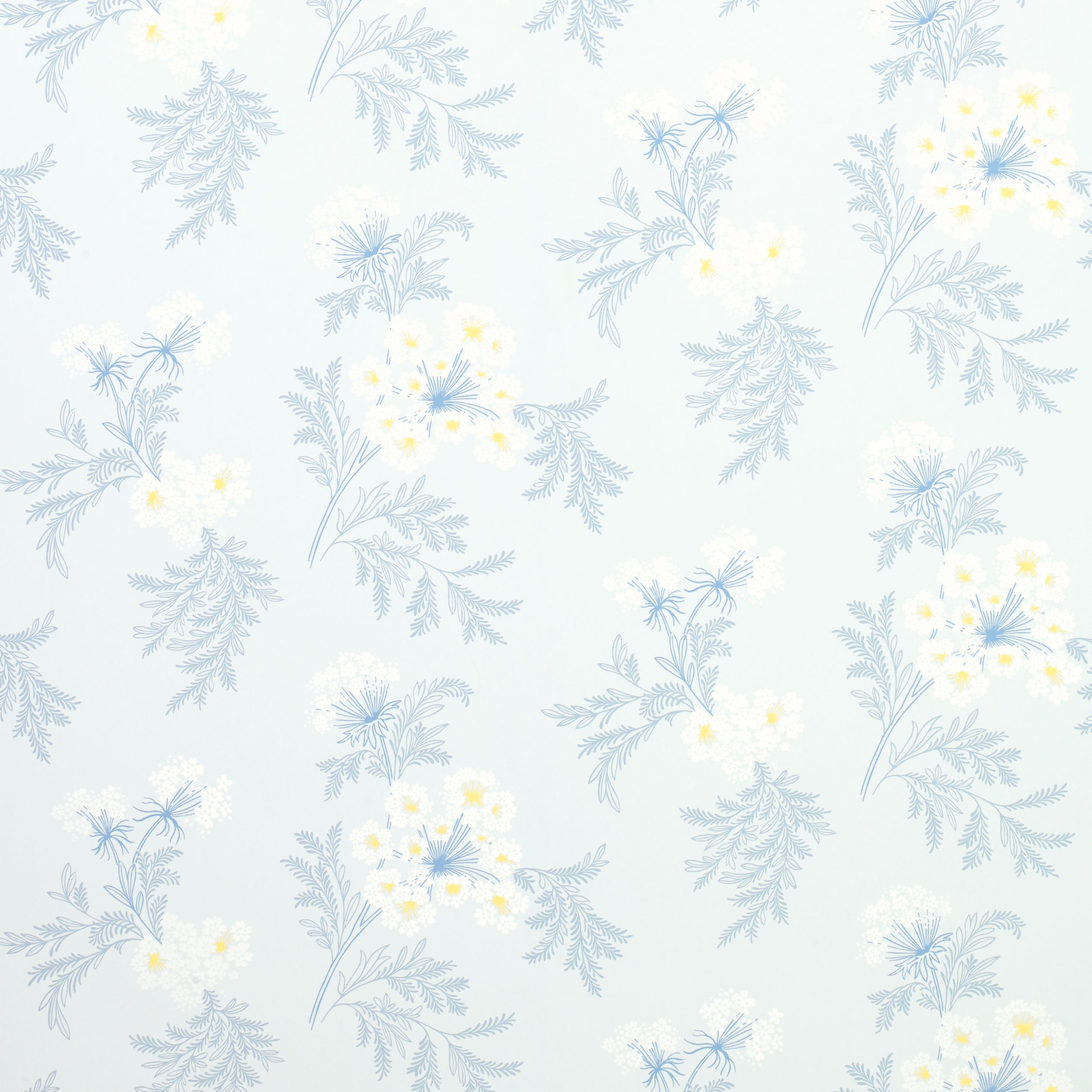 Laura Ashley Kitchen Wallpaper: Laura Ashley Sandford Seaspray Floral Wallpaper