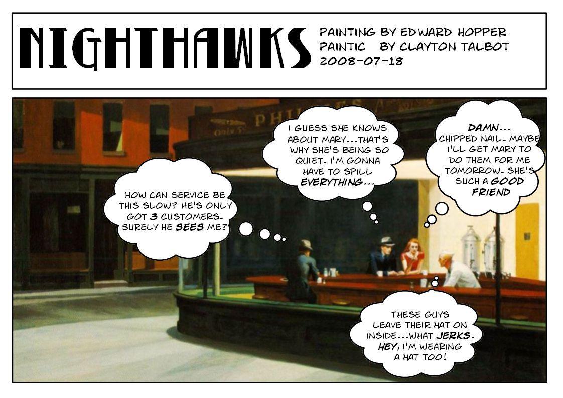 pin nighthawks edward hopper - photo #31