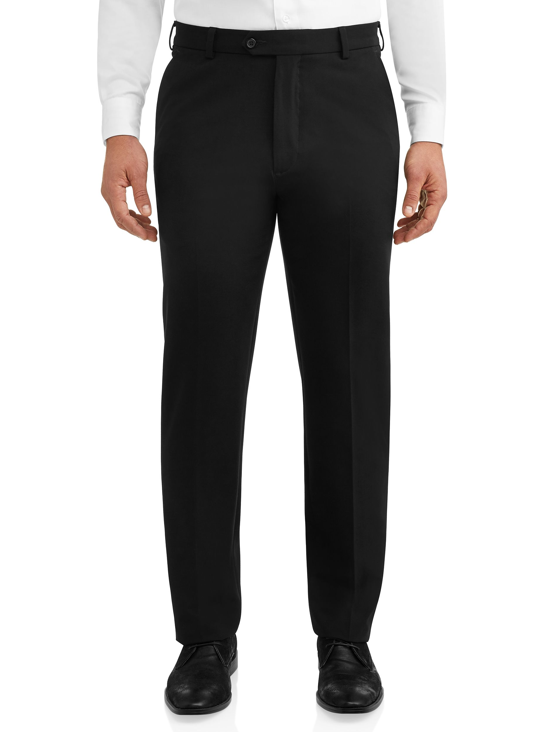 Free 2 Day Shipping On Qualified Orders Over 35 Buy George Men S Premium Comfort Stretch Flat Front Suit Pant At Walmart Mens Dress Pants Men Dress Suit Pant [ 2500 x 1875 Pixel ]