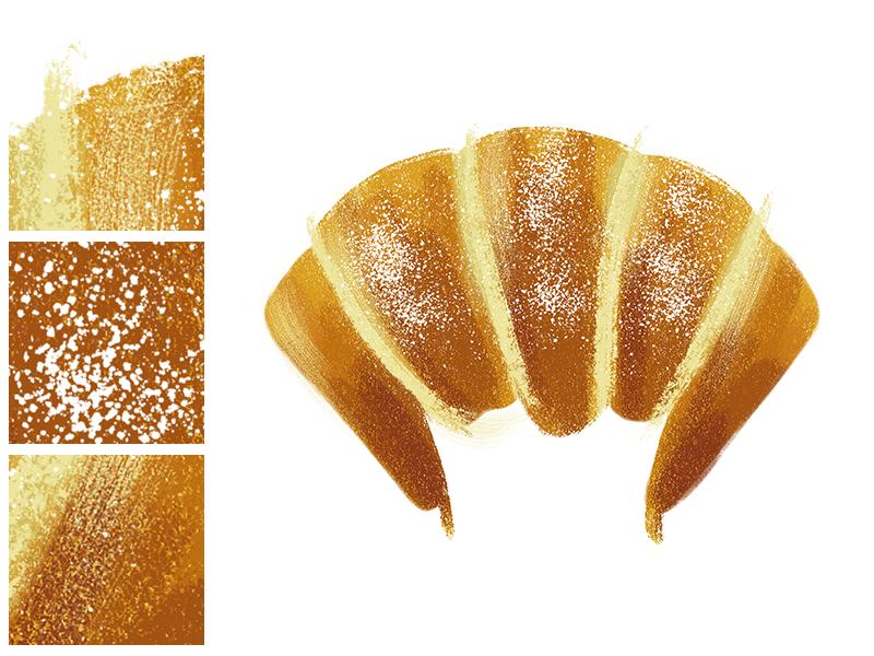 Croissant by Wanda Arca #Design Popular #Dribbble #shots
