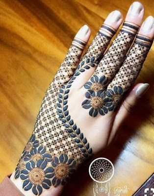75+ Latest arabic mehndi designs for hands || Henna patterns for all occasions