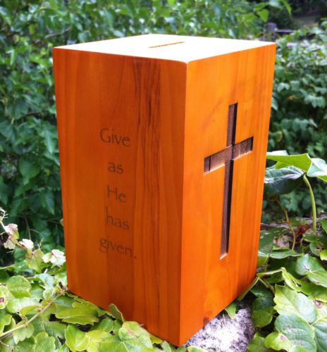 church offering box